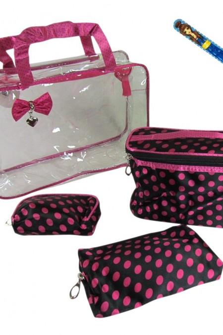 cosmetic bag - make up bag - travel organizer 3