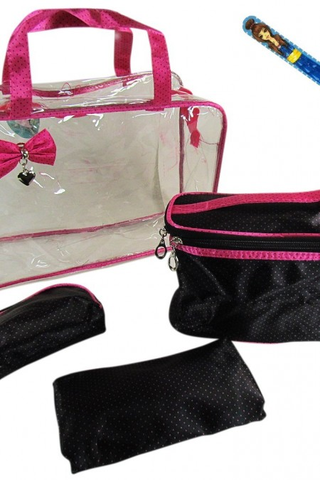 cosmetic bag - make up bag - travel organizer 4